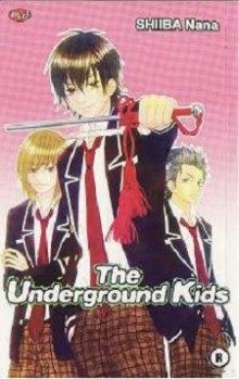 Читать мангу The Underground Kids / Тайный клуб расследований онлайн