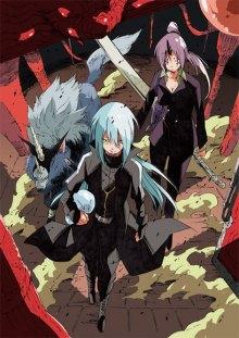 Постер к комиксу In Regards to My Reincarnation as a Slime / О моём перерождении в слизь / Tensei Shitara Slime Datta Ken