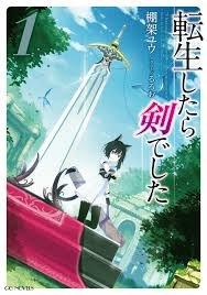 Читать мангу I was a Sword when I Reincarnated! / О моём перерождении в меч / Tensei Shitara Ken deshita онлайн