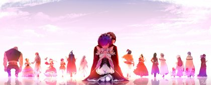 Картинка из аниме re zero