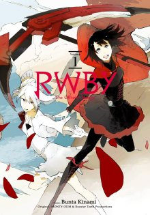 Постер к комиксу RWBY: The Official Manga / Красный Белый Чёрный Жёлтый