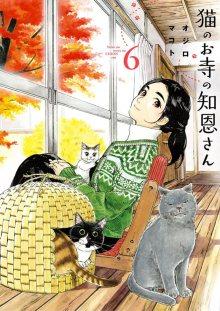 Постер к комиксу Cat Temple's Miss Chion / Кошачий храм Тион-сан / Neko no Otera no Chion-san
